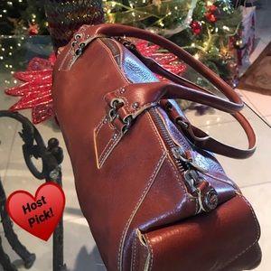 ♥️HP 1/2/20♥️ Cole Hahn pebble leather bag EUC